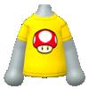 "The ""Super Mushroom Shirt"" Mii top"
