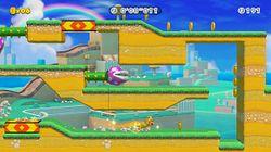 Cat Mario Dash, the fourth level of Ninji Speedruns in Super Mario Maker 2.