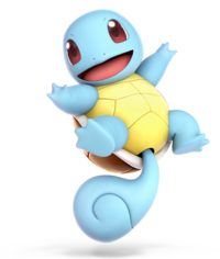 Squirtle from Super Smash Bros. Ultimate