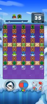 Stage 1006 from Dr. Mario World