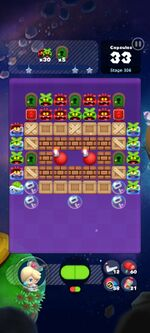 Stage 306 from Dr. Mario World since March 18, 2021
