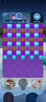 Stage 30A from Dr. Mario World