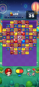 Stage 654 from Dr. Mario World