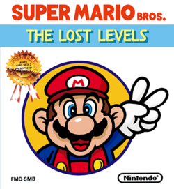 English Box art for Super Mario Bros.: The Lost Levels from Nintendo Switch Online