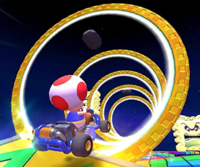 The Rosalina Cup Challenge from the Mario Bros. Tour of Mario Kart Tour