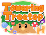 Logo for Towering Treetop in Mario Party 6