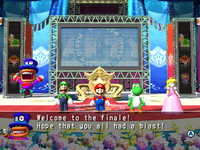 The Star Carnival Stage from Mario Party 8