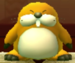 Monty Mole as viewed in the Character Museum from Mario Party: Star Rush