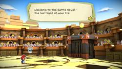 The Golden Coliseum from Paper Mario: Color Splash