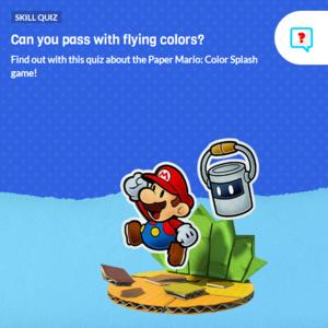 Icon for Paper Mario: Color Splash Trivia Quiz