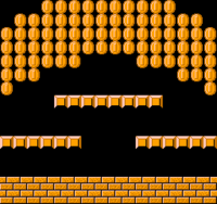 The unused two-player level