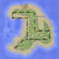 The map for Koopa Beach 2.