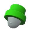 """The """"Pipe Hat"""" Mii headwear"""