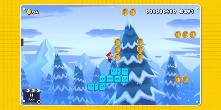Picture shown with the second question in Super Mario Maker 2 Trivia Quiz