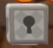 Close-up of a Warp Box (With Key) from Super Mario 3D World.