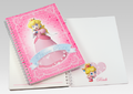 Club Nintendo - Peach Notepad.png