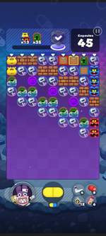 World 13's Special Stage from Dr. Mario World