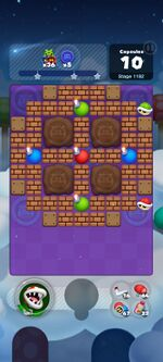 Stage 1182 from Dr. Mario World