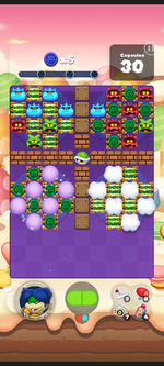 Stage 453 from Dr. Mario World