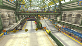 Super Bell Subway from Mario Kart 8 - Animal Crossing × Mario Kart 8 downloadable content.