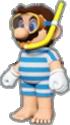 Mario's Swimwear icon in Mario Kart Live: Home Circuit