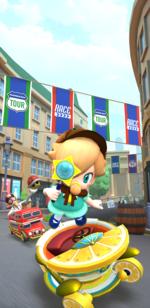 The Baby Rosalina Tour from Mario Kart Tour
