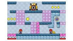 Miiverse screenshot of the 3rd official level in the online community of Mario vs. Donkey Kong: Tipping Stars