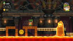 Screenshot of The Final Battle in New Super Luigi U.