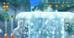 The Great Geysers from New Super Luigi U.