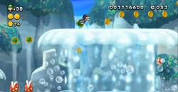The Great Geysers from New Super Luigi U.