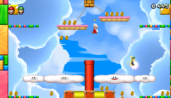 World Coin-8 from New Super Mario Bros. U