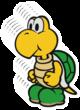 Koopa Troopa 6-Stack sprite from Paper Mario: Color Splash
