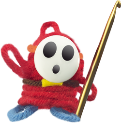 Hook Guy from Yoshi's Woolly World.
