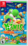 North American box art of Yoshi's Crafted World.