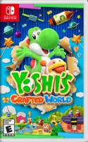 North American box art of Yoshi's Crafted World.