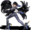 Bayonetta from Super Smash Bros. Ultimate
