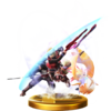 Chain Attack trophy from Super Smash Bros. for Wii U