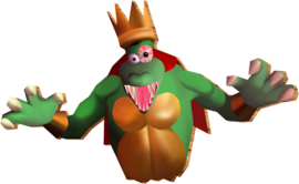 King Kut Out in Donkey Kong 64.