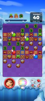 Stage 1003 from Dr. Mario World