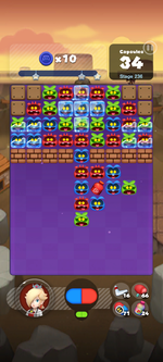 Stage 236 from Dr. Mario World