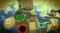 The Fast Foe Comet affect Thwomps and Tox Box.
