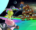 The Peachette Cup Challenge from the Baby Rosalina Tour of Mario Kart Tour