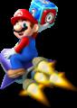 Mario Rocket Artwork - Mario Party Island Tour.png
