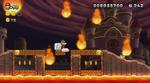 Meteors in World 8 in New Super Mario Bros. U