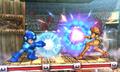 SSB4 3DS - Samus Mega Man Charge Attack.png