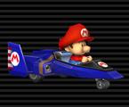 Baby Mario's Blue Falcon