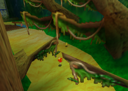 Haunted Woods, from Diddy Kong Racing.