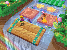 Daft Rafts from Mario Party 6