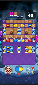 Stage 519 from Dr. Mario World