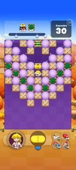 Stage 834 from Dr. Mario World